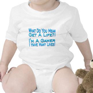 Muchas vidas traje de bebé