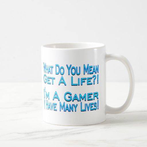 Muchas vidas tazas de café