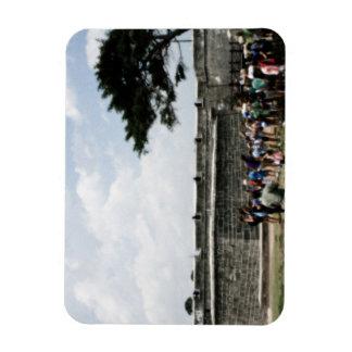 Muchedumbre del fuerte de St Augustine granosa Iman Flexible