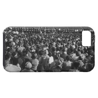 Muchedumbre en estadio iPhone 5 cárcasas