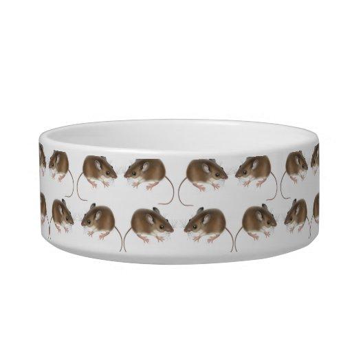 Mucho cuenco del mascota del ratón de campo de comedero para mascota