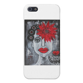 mucho del besame iPhone 5 protectores