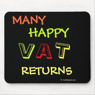 Mucho el IVA feliz vuelve al especialista Mousepad