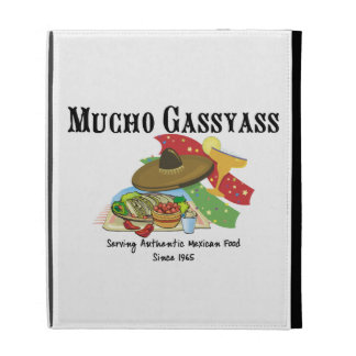 Mucho Gassyass Mexican Food iPad Folio Cover