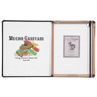 Mucho Gassyass Mexican Food iPad Case