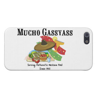 Mucho Gassyass Mexican Food iPhone SE/5/5s Cover
