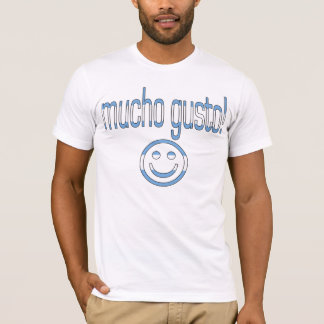 Mucho Gusto! Argentina Flag Colors T-Shirt