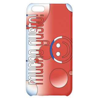 Mucho Gusto! Chile Flag Colors Pop Art iPhone 5C Cover
