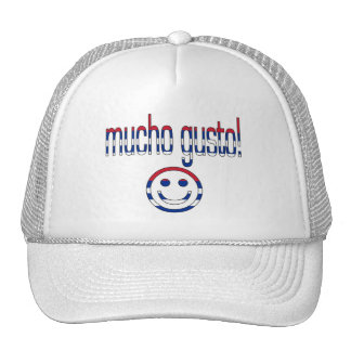Mucho Gusto! Cuba Flag Colors Trucker Hat