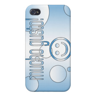 Mucho Gusto! Guatemala Flag Colors Pop Art iPhone 4/4S Case