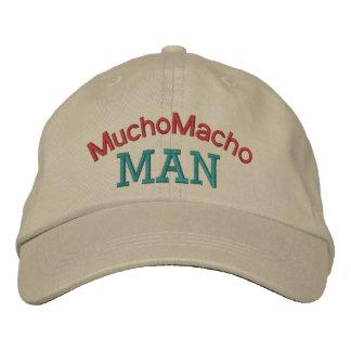 Mucho Macho Man by SRF Baseball Cap