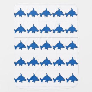 Mucho manta del bebé de Dannys del delfín Mantas De Bebé