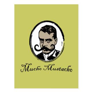 Mucho Mustacho - Zapata Post Card