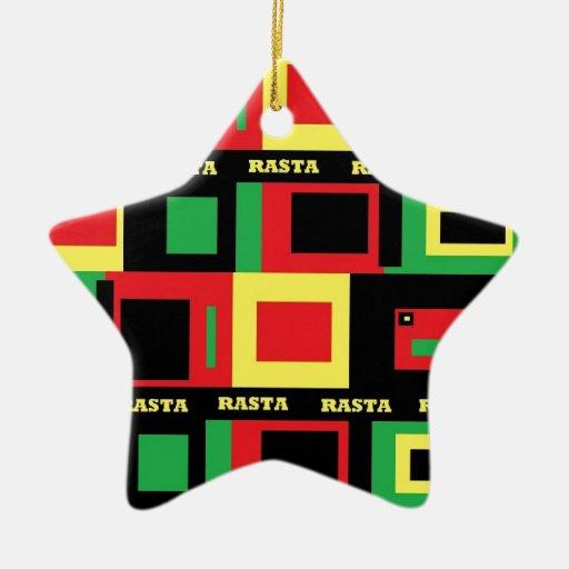 mucho rasta ornamentos de navidad