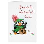 Mucho ruido sobre tarjeta de los pingüinos