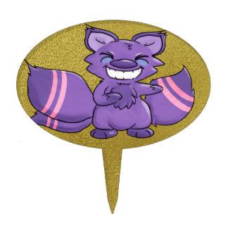 Muchos ataron el Fox del cuento de hadas Palillos De Tarta