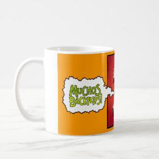 Muchos Backflips!  The Mug. Coffee Mug
