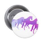 Muchos caballos (púrpuras) pins
