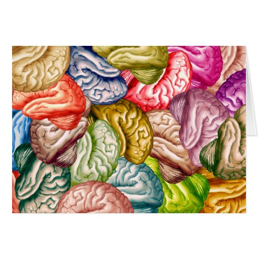Muchos cerebros felicitacion