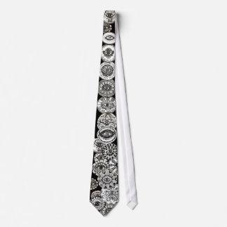 Muchos ojos corbata personalizada