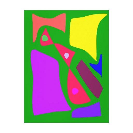 Muchos que bendicen las variaciones alegres modern impresión en lienzo estirada