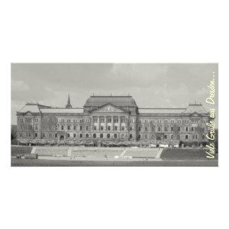 Muchos saludos de Dresden… Tarjeta Fotografica Personalizada