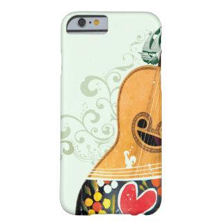 Muchos símbolos de Portugal - guitarra portuguesa Funda Para iPhone 6 Barely There