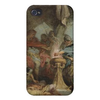 Mucius Scaevola antes de Porsenna iPhone 4/4S Carcasas
