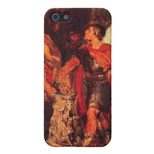 Mucius Scaevola before Porsenna by Paul Rubens Covers For iPhone 5