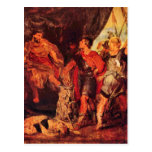 Mucius Scaevola before Porsenna by Paul Rubens Post Card