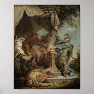 Mucius Scaevola before Porsenna Print