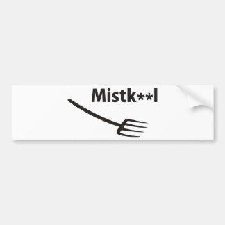 Muck chap bumper sticker