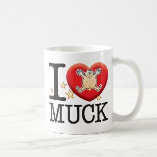 Muck Love Man Classic White Coffee Mug