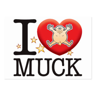 Muck Love Man Large Business Cards (Pack Of 100)