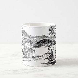 Muck Monster of the Roosevelt Bridge/bw Classic White Coffee Mug