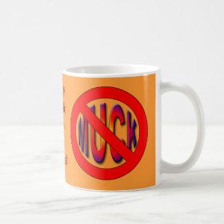 muck (poker) classic white coffee mug