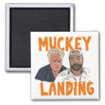 Muckey Landing Fridge Magnet