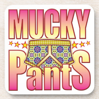 Mucky Flowery Pants Coaster