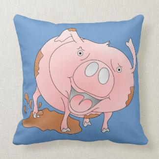 Mucky pink pig pillows