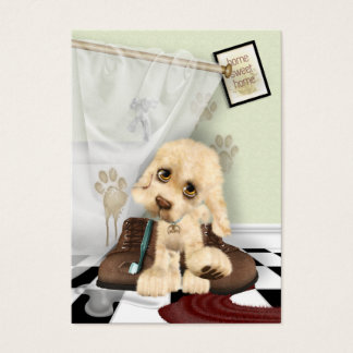 Mucky Pup Personalized Business Card