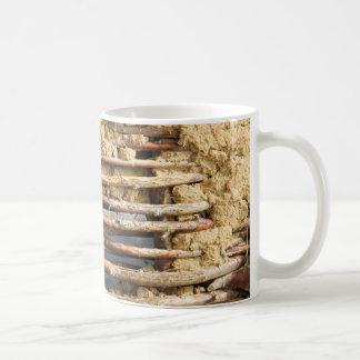 Mud and wattle wall coffee mug