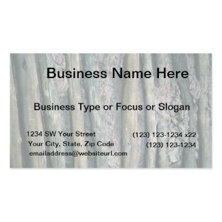 mud and wattle wall detail Double-Sided standard business cards (Pack of 100)