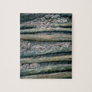 mud and wattle wall detail jigsaw puzzle