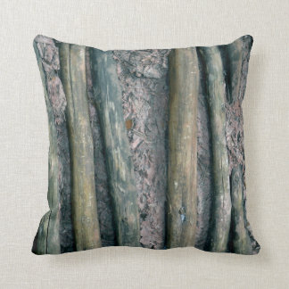 mud and wattle wall detail throw pillow