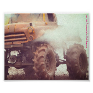 Mud Bogging 4x4 Truck Poster