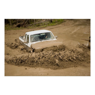 Mud bogging poster