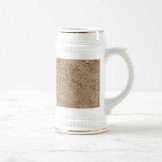 Mud. Brown Muddy Ground. Beer Stein
