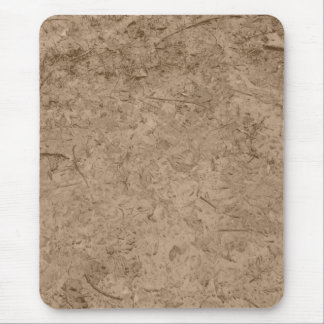 Mud. Brown Muddy Ground. Mousepads