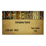 Mud Cloth 2 Double-Sided Standard Business Cards (Pack Of 100)