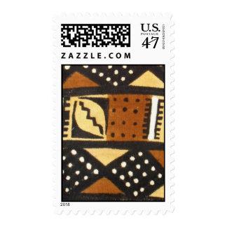 mud cloth diagonals stamp